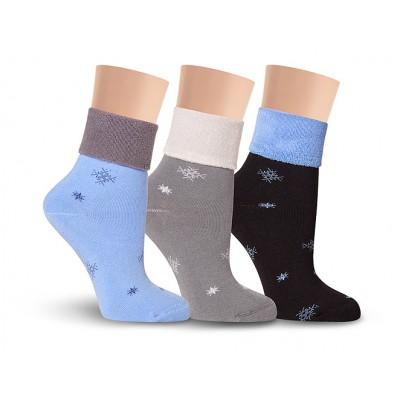 Д1М носки женские махровые
