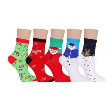 Д107 носки женские новогодние