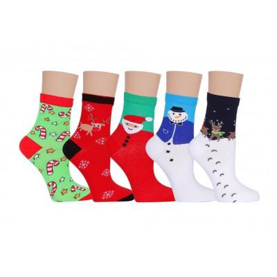 Набор женских новогодних носков Р15