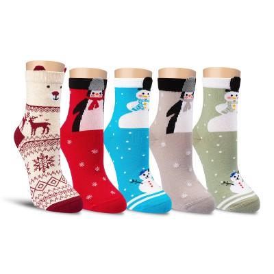 Набор женских новогодних носков Р16