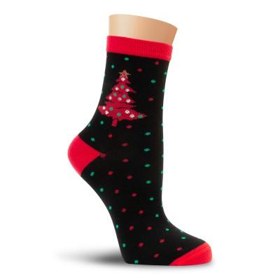 Набор женских новогодних носков Р63