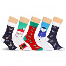Е34 носки мужские новогодние