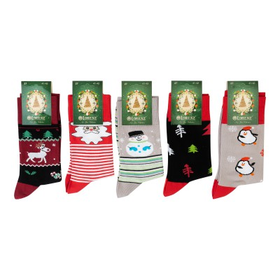 Е36 носки мужские новогодние