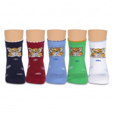 Л8 носки детские махровые c тигренком