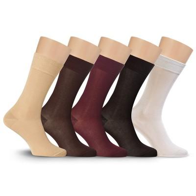 Подарочный набор носков, мерсеризованный хлопок, Р4