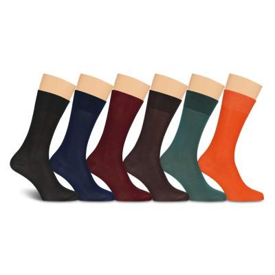 Подарочный набор носков, мерсеризованный хлопок, Р5