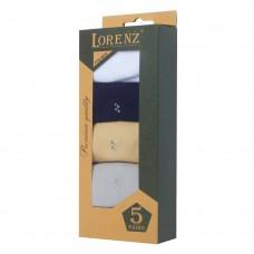 Подарочный набор носков, мерсеризованный хлопок, Р7